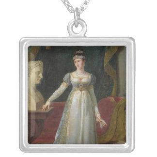 Marie Pauline Bonaparte  Princess Borghese, 1808 Silver Plated Necklace