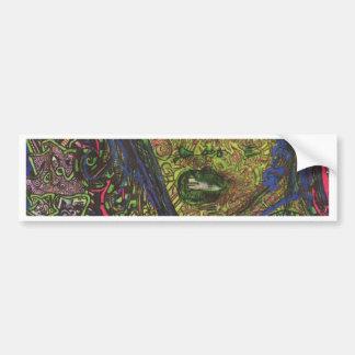 Mariée De Le Saule Bumper Stickers