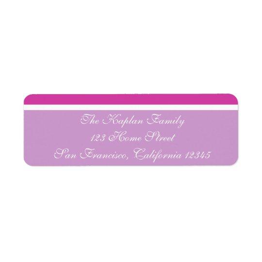 Marielle Return Address Label