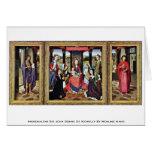 Marienaltar Sir John Donne Of Kidwelly Greeting Card