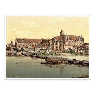 Marienburg, west side, Prussia, Germany (i.e., Mal Postcard