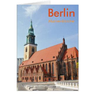 Marienkirche in Berlin, Germany Card