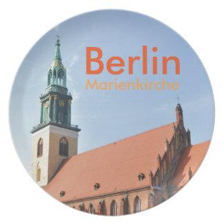 Marienkirche in Berlin, Germany Plate
