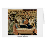 Marientod By Duccio Greeting Card