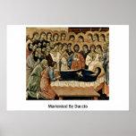 Marientod By Duccio Poster