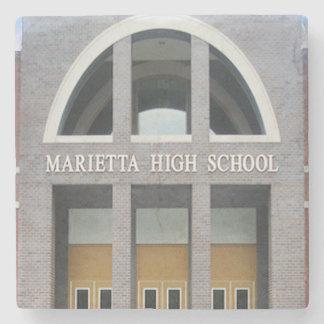 Marietta High School Marietta, Ga. Marble Stone Co Stone Coaster