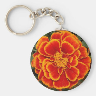 marigold basic round button key ring