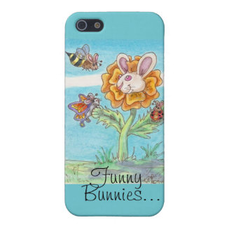 Marigold Funny Bunny Bee, Butterfly & Lady Bug Art Case For iPhone 5/5S