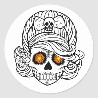 Marigold Mary DOD Stickers
