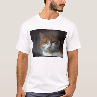 'Marigold' orange and white tabby cat T-Shirt
