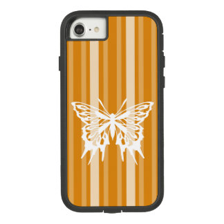 Marigold Victorian Stripe with Butterfly Case-Mate Tough Extreme iPhone 8/7 Case