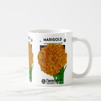 Marigold Vintage Seed Packet Mug