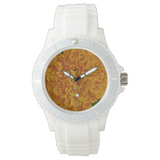 Marigold Vintage Seed Packet Wristwatches