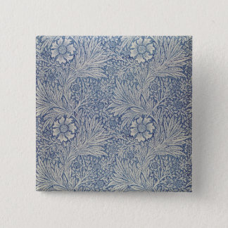 'Marigold' wallpaper design, 1875 15 Cm Square Badge