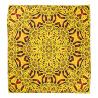 Marigolds Colorful Hankerchief, Hankie Bandana