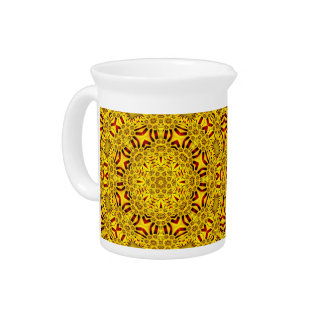 Marigolds Colorful Pitcher