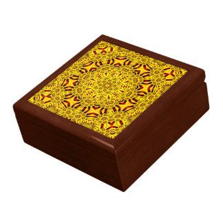 Marigolds Colorful Tile Gift Box