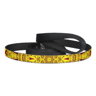 Marigolds    Custom Dog Leash