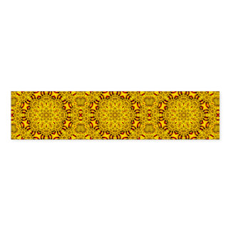 Marigolds Kaleidoscope   Colorful Napkin Band
