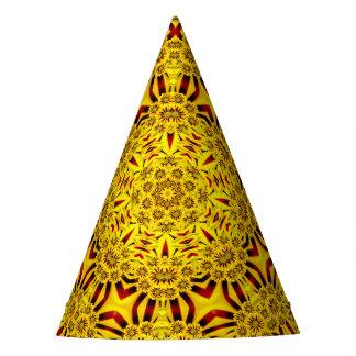 Marigolds Kaleidoscope  Customizable Party Hats