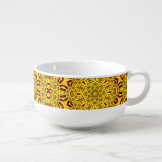 Marigolds Kaleidoscope     Soup Mugs