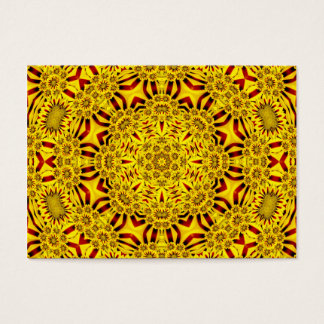 Marigolds Pattern   Colorful Business Cards