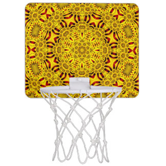 Marigolds Vintage Kaleidoscope    Basketball Hoops