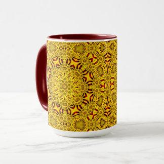 Marigolds Vintage Kaleidoscope Combo Mug