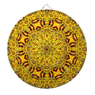 Marigolds Vintage Kaleidoscope   Dartboard