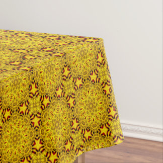 Marigolds Vintage Kaleidoscope  Tablecloth