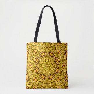 Marigolds Vintage Kaleidoscope  Tote Bag