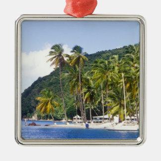 Marigot Bay, St. Lucia, Caribbean Christmas Ornament