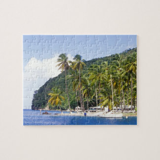 Marigot Bay, St. Lucia, Caribbean Jigsaw Puzzle