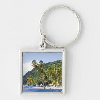 Marigot Bay, St. Lucia, Caribbean Key Ring