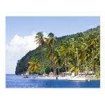 Marigot Bay, St. Lucia, Caribbean Postcard