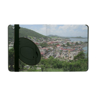 Marigot Waterfront From Fort Louis iPad Cases