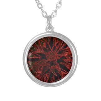 Marijuana art gifts #2 round pendant necklace