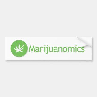 Marijuanomics Bumper Sticker