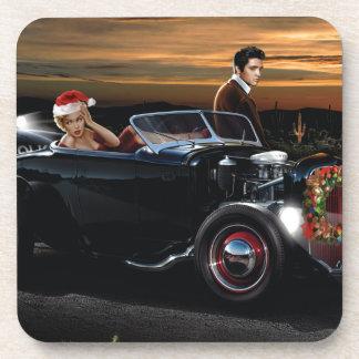 Marilyn and Elvis Christmas Joy Ride Coaster