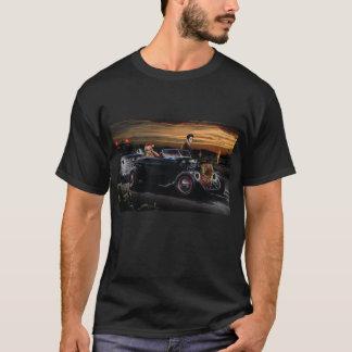 Marilyn and Elvis Christmas Joy Ride T-Shirt