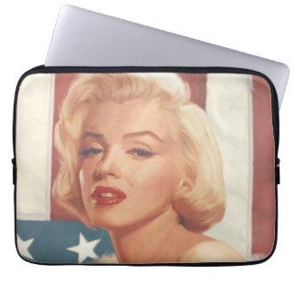Marilyn Flag Laptop Sleeve