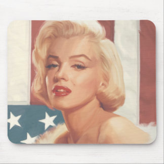 Marilyn Flag Mouse Mat