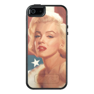 Marilyn Flag OtterBox iPhone 5/5s/SE Case