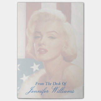 Marilyn Flag Post-it Notes