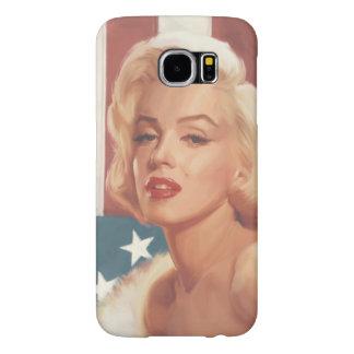 Marilyn Flag Samsung Galaxy S6 Cases