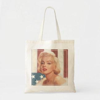 Marilyn Flag Tote Bag