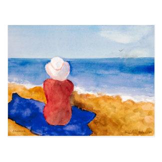 "Marilyn Holmes Fine Art Postcard ""Dreamer"""