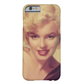 Marilyn in Black Barely There iPhone 6 Case