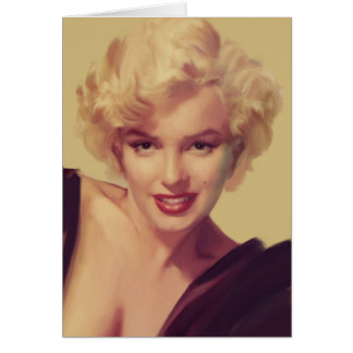 Marilyn in Black Card