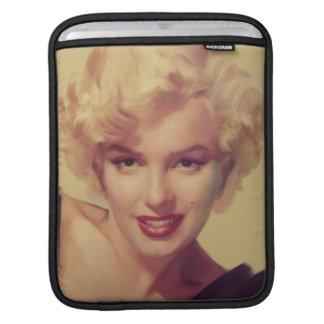 Marilyn in Black iPad Sleeve